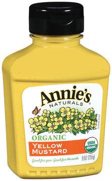 Annie's Naturals® Organic Yellow Mustard 9 oz. Bottle