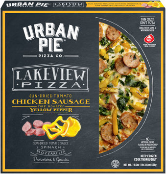 Urban Pie™ Pizza Co. Lakeview Pizza Thin Crust Craft Pizza 19.6oz. Box
