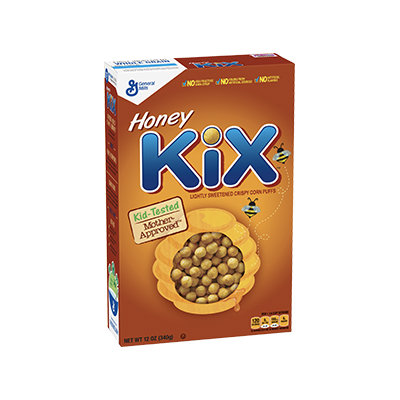 Kix Honey Cereal