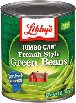 Libby's® Jumbo-Can® French Style Green Beans 28 oz. Can
