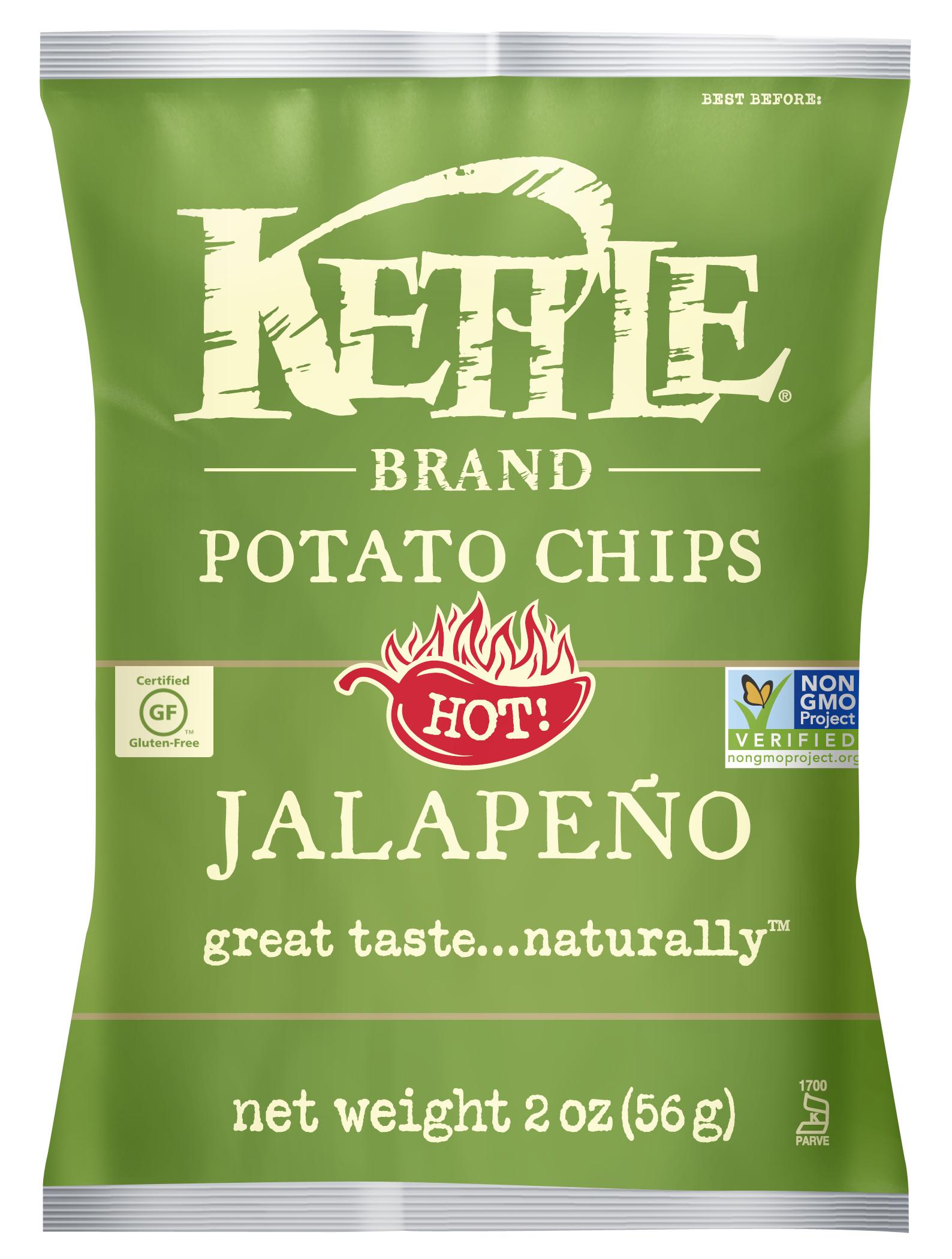 Kettle Brand Jalepeño Chips