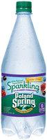 Poland Spring® Acai Blueberry Pomegranate Sparkling Water 33.8 fl. oz. Bottle