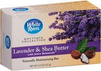 White Rain® Boutique Collection Lavender & Shea Butter Moisturizing Bar 4.5 oz. Box