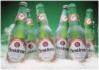 Presidente Multiple Bottles In Ice Group Shot Cerveza