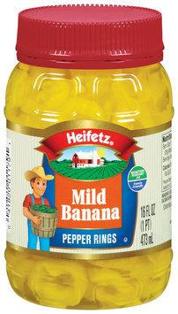 Heifetz Mild Banana Pepper Rings