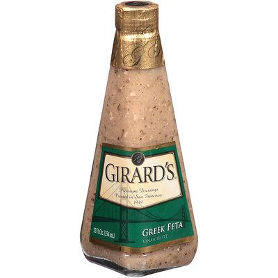 Girard's® Greek Feta Vinaigrette 12 fl. oz. Glass Bottle