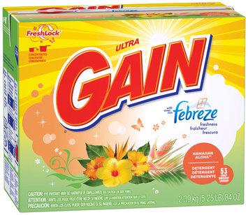 Gain® Ultra Febreze Hawaiian Aloha with FreshLock Powder Laundry Detergent 84 oz. Box