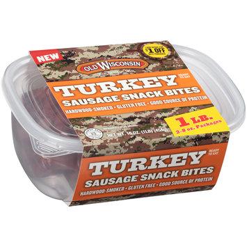 Old Wisconsin® Turkey Sausage Snack Bites 2-8  oz. Pouches