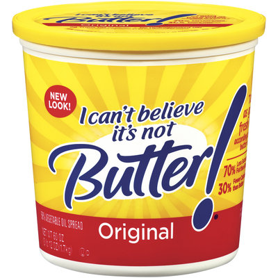I Can't Believe It's Not Butter! Original Spread 60 Oz Plastic Tub