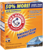 ARM & HAMMER™ Alpine Clean Powder Laundry Detergent