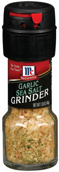 Grinders  Garlic Sea Salt 1.58 Oz Glass Bottle