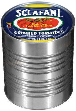 Sclafani Crushed Tomatoes 104 Oz Can