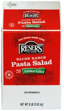 Reser's Fine Foods® Bacon Ranch Pasta Salad 8 lb. Carton