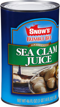 Snow's® Bumble Bee® Gourmet Style Sea Clam Juice 46 fl. oz. Can