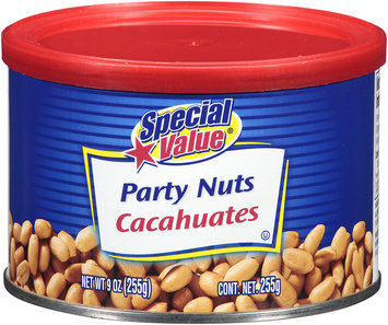 Special Value® Party Nuts 9 oz. Canister