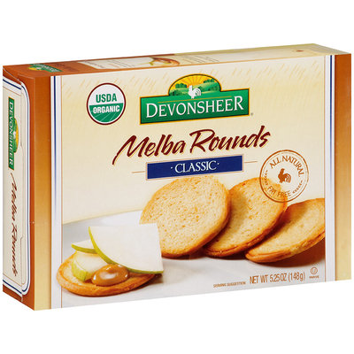 Devonsheer® Melba Rounds Classic 5.25 oz. Box