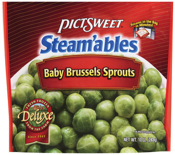 STEAM'ABLES DELUXE Baby Brussels Sprouts 10 OZ STAND UP BAG