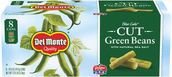 Del Monte® Blue Lake® Cut Green Beans with Natural Sea Salt 8-14.5 oz. Cans