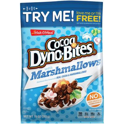 Malt-O-Meal® Cocoa Dyno-Bites® with Marshmallows Cereal 10 oz. Bag