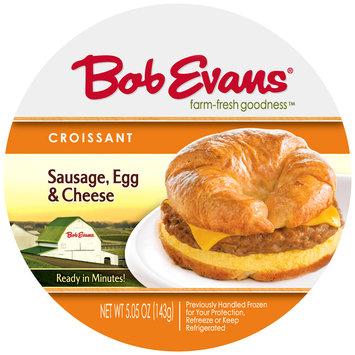 Bob Evans® Sausage, Egg & Cheese Croissant Sandwich 5.05 oz. Wrapper