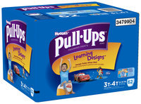 Huggies® Pull-Ups® Training Pants with Learning Designs® for Boys 3T-4T 62 ct Box