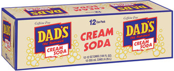 Dad's Old Fashioned® Cream Soda 12 ct 12 oz