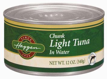 Haggen Chunk Light In Water Tuna 12 Oz Can