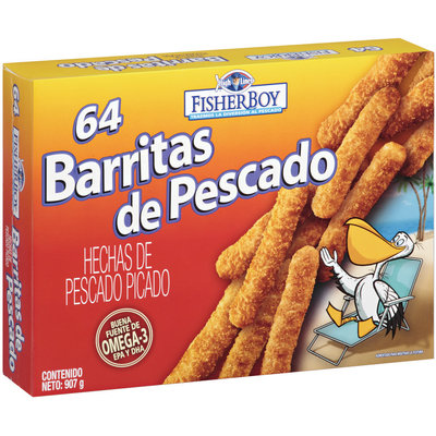 Fisher Boy Barritas De Pescado