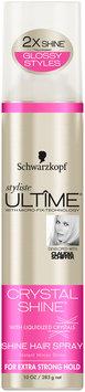 Schwarzkopf Styliste Ultime® Crystal Shine™ Hair Spray 10 oz. Aerosol Can