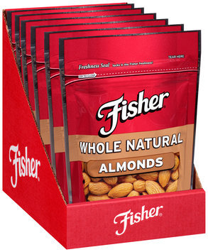 Fisher® Whole Natural Almonds 5 oz.