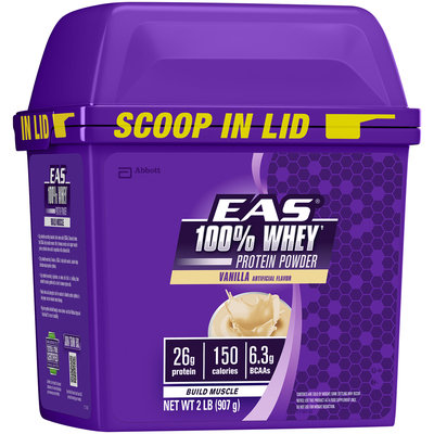EAS® 100% Whey Vanilla Protein Powder 2 lb Tub