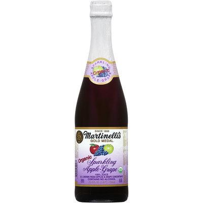 Martinelli's Gold Medal® Organic Sparkling Apple-Grape Juice 25.4 fl. oz. Bottle
