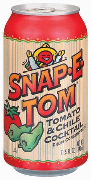 Snap-E-Tom® Tomato & Chile Cocktail from Concentrate 11.5 fl. oz. Can