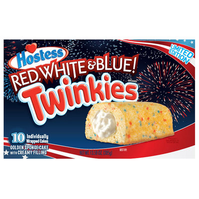 Hostess® Red, White & Blue! Twinkies® 10 ct Box