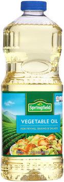 Springfield® Vegetable Oil 40 fl. oz. Bottle