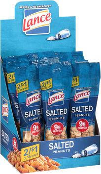 Lance® Salted Peanuts 16.5 oz. Box