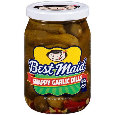 Best Maid® Snappy Garlic Dills Pickles 16 fl. oz. Jar