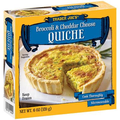 Trader Joe's® Broccoli & Cheddar Cheese Quiche