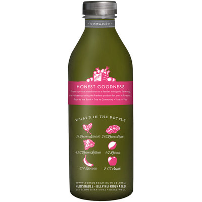 True Grimmway Farms® Organic Bunched Greens™ Juice 28 fl. oz. Bottle