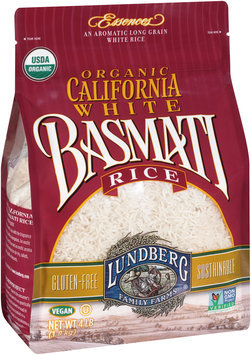 Lundberg Family Farms® Organic California White Basmati Rice 4 lb Pack