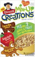 Quaker® Oatmeal Mix-up Creations Cinn-o-man-Apple-tastic-Mapl-icious Instant Oatmeal