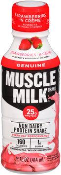 Muscle Milk® Genuine Strawberries 'N Creme Non Dairy Protein Shake 14 fl. oz. Bottle