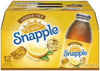 Snapple® Lemon Tea 16 fl. oz., 12-Pack Glass Bottles