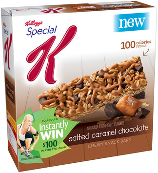 Special K® Kellogg Salted Caramel Chocolate Snack Bars