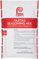 Lawry's® Fajitas Seasoning Mix 8.9 oz. Bag