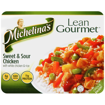 Michelina's® Lean Gourmet® Sweet & Sour Chicken 8 oz. Tray