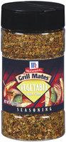 McCormick Grill Mates Vegetable Garlic & Herb Seasoning 8 Oz Shaker