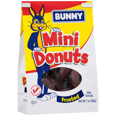 Bunny® Frosted Mini Donuts 7 oz. Stand Up Bag
