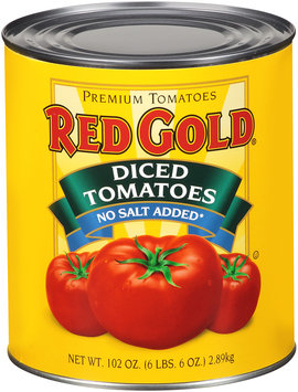 Red Gold® No Salt Added Diced Tomatoes 102 oz.