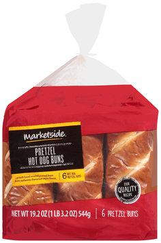 Marketside™ Pretzel Hot Dog Buns 19.2 oz. Pack